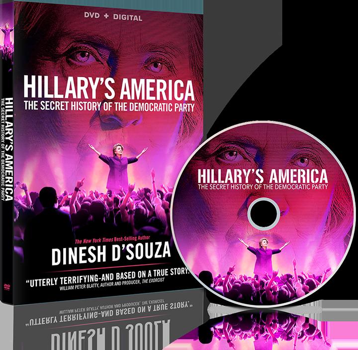 """Hillary's America"" DVD"